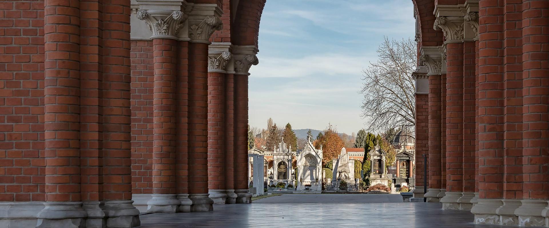 Zentralfriedhof - Kirchenportal