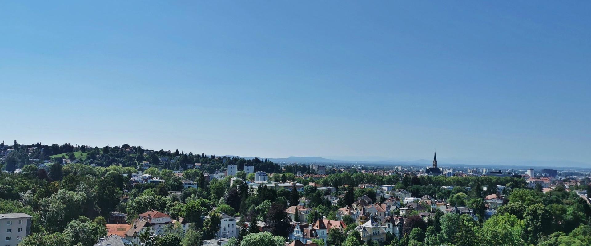 Blick auf St.Leonhard Graz